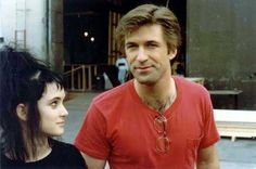 Winona Ryder and Alec Baldwin | Rare, weird & awesome celebrity photos