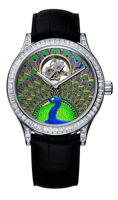 Peacock Watch by Van Cleef & Arpels