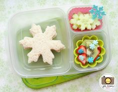 Let it snow.. in your lunchbox!