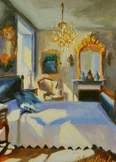 Interior Design For Bathroom Key: 5521467362 Art Themes, Hanging Art, Beautiful Paintings, Landscape Art, Canvas Art Prints, Original Paintings, Oil Paintings, Original Artwork, French Interior