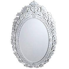 "Venetian 32.75""x1""x44.5"" Wall Mirror"