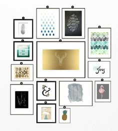 26 Free Printables For Gallery Walls • Little Gold Pixel • An Art Printable Roundup • #printables #freebies #freeprintables #freeart #freeprints #gallerywall #gallerywallideas #gallerywallart