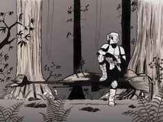 Scout Trooper by ~Daennika