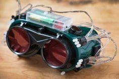 Cómo hacer gafas térmicas baratos