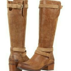 UGG Boots UGG Boots -Style Darcie -Color Chestnut -Never Worn  These trendy boots are great with jeans or a skirt! UGG Shoes Heeled Boots