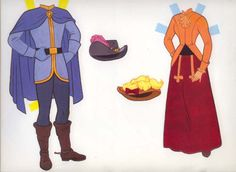 Cinderella - Golden Book 4th page of clothes