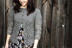 diy crochet cardigan drops cotton