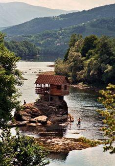 Vacation home near River Drina | Bajina, Serbia #photography #nature #place #travel #europe