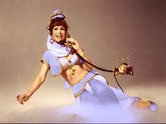 Photo by Islandwitch Barbara Eden, I Dream Of Jeannie, Xena Warrior Princess, Vintage Tv, Princess Zelda, Disney Princess, Movies And Tv Shows, Love Her, Disney Characters