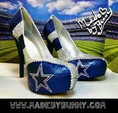 Dallas Cowboys High Heels...AWESOME!!!