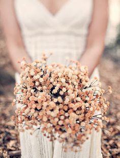 Ramos con flores secas