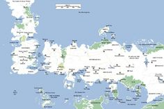 Game Of Thrones Season 2 Map
