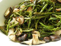 asparagi e funghi #asparagus #mushroom #ricettedisardegna #sardegna #sardinia #recipes #cucina #sarda