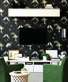 9 Ways to Decorate Around a TV   Apartment Therapy
