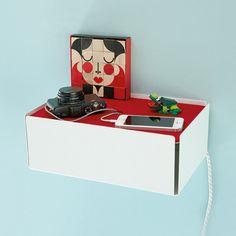 Konstantin Slawinski Kabelbox CHARGE-BOX weiß