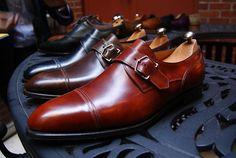 Büyük pipili, göbekli erkekler giysin bunu. #man #shoe #brown #monk