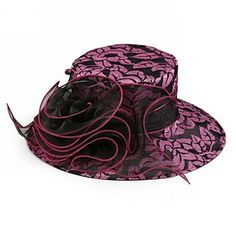 04c720037f6 Gorgeous Organza Women Spring Summer Hat With Floral (More Colors)