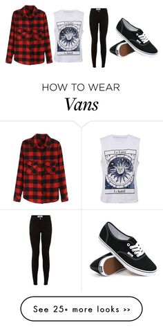 """…"" by anonymous-owner on Polyvore featuring Vans"
