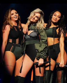 Little mix ❤❤❤❤ Little Mix Outfits, Little Mix Girls, Jessy Nelson, My Girl, Cool Girl, Perrie Edwards Style, Litte Mix, Mixed Girls, Stage Outfits