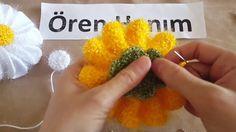 Papatya Çiçek Yapımı
