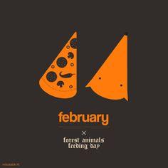 11th of February - Forest Animals Feeding Day /// Dzień Dokarmiania Zwierzyny Leśnej /// by haveasign