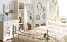 beige white brown bedroom