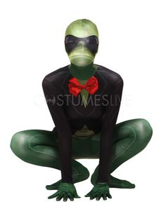 Frog Unisex Lycra Spandex Stylish Multicolor Zentai Suits - Costumeslive.com by Milanoo