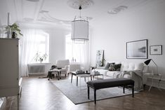 An elegant, light and airy Swedish home | my scandinavian home | Bloglovin'