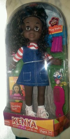 classic kenya doll play date Jean dress  New in box #DollswithClothingAccessories