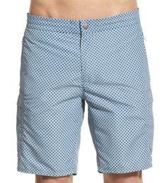 Parkes dot print swim trunks ($78) by W.R. K., nordstom.com