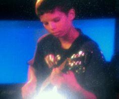#Nephew on #guitar, passing me up