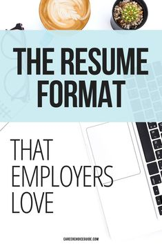 The best resume format will highlight your most marketable skills and minimize any weaknesses in your employment history. Here's how to decide which resume format will be most effective for you while you're job hunting. #resumeformat #jobhunting #careerchoiceguide Best Resume Format, Resume Layout, Resume Writing, Resume Design, Cover Letter Tips, Writing A Cover Letter, Cover Letters, Career Choices, Career Advice