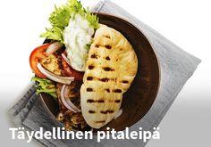 Täydellinen pitaleipä Resepti: Naapurin Maalaiskana #kauppahalli24 #ruoka #resepti #pitaleipä
