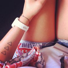 I think I want a triangle somewhere on my body just to have one lol