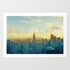 New York City Art Print by Jessi Pena - $30.16