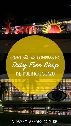 Confira como são as compras no Duty Free Shop em Puerto Iguazú, na Tríplice Fonteira com o Brasil. Confira horários, formas de pagamento, como chegar e muito mais! Puerto Iguazu, Duty Free Shop, Wanderlust, Landscapes, Travel, Shopping, Luxury Travel, Travel Photos, Bucket List Travel