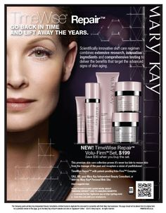 Mary Kay Flyers   New! Mary Kay TimeWise Repair™  