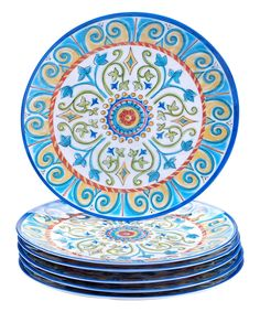 Look what I found on #zulily! Tuscany Dinner Plate - Set of Six by Certified International #zulilyfinds
