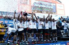 Fiji take the Cup final at the USA Sevens