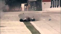 A Morte de Ayrton Senna - Formula 1 (01-05-1994) Na Curva do Tamburello HD.