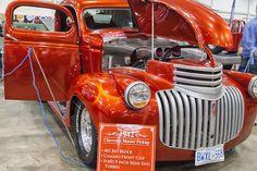 https://flic.kr/p/EVAw1b | Motorama Show Toronto 2016 | 1942 Chevrolet Master Pickup.