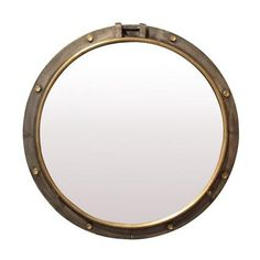This porthole mirror is the perfect accessory in your lounge, bedroom or hall entrance. Palm Springs Bar, French Country Collections, Porthole Mirror, Mirror Mirror, Mirrors Online, Shop Around, Round Mirrors, Accent Pieces, French Vintage