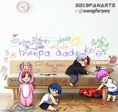 Scribble, Some Pictures, Babys, Boy Groups, Chibi, Fanart, Outfit, Drawings, Cute
