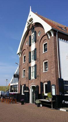 Hotel Restaurant 't Pakhuus, Oudeschild, Texel, Noord-Holland.