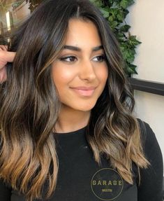 Thin Hair Styles For Women, Medium Hair Styles, Long Hair Styles, Oval Face Hairstyles, Hairstyles 2016, Dark Brunette Hair, Short Thin Hair, Brown Hair Balayage, Hair Color For Black Hair