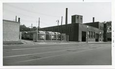 Capital Transit PCCs at 7th Street Warves Car Yard (1950s).