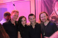 After the Soulsavers performance in LA  2012