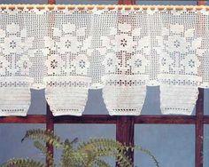 Cortinas de Crochê para Decoração da Casa: Fotos e Modelos