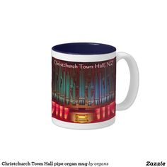Christchurch Town Hall pipe organ mug