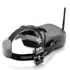 Eachine VR-007 VR007 5.8G 40CH HD FPV Goggles Video Glasses 4.3 Inch With 7.4V 1600mAh Battery Sale - Banggood.com